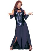 Halloween Enchantress Bustier Costume 10-12 Budget Fancy Dress