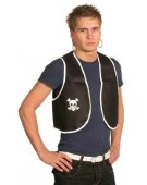Adult Pirate Waistcoat Costume Accessory Fancy Dress