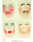 Transparent Face Mask New Years Party Masks Eyemasks and Disguises for Masquerade Fancy Dress Costume Accessory