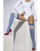 Opaque Hold-Ups Fancy Dress Accessories Costume