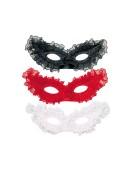 Lace Papillon Eyemask One Size Adult Fancy Dress Accessory