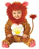 Children's Baby Lion Cutie Costume for Animal Jungle Farm Fancy Dress