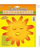 Sun Garlands Fr Accessory for Tropical Hawiian Fancy Dress