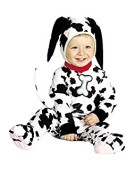 Children's Baby Cutie Dalmation Costume for Animal Jungle Farm Fancy Dress