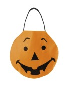 Pumpkin Trick or Treat Handbag Halloween Fancy Dress Accessory