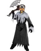 Skull Ligthup Costume Kids Halloween Fancy Dress