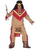 Children's Sitting Bull Child 140cm Costume for Wild West Indian Fancy Dress