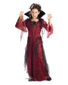 Halloween Gothic Vampiress Dress Small Kids Vampire Costume