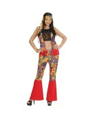 Hippie Set Medium UK 10 - 12 Adult Ladies Fancy Dress Costume