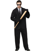 Black Suit Costumes Adult One Size Fancy Dress