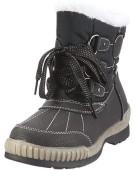 """Antonio Dolfi Snow Black UK 5"""" Polyester Boots"""