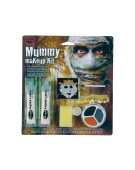 Mummy Makeup Kit One Size Adult Fancy Dress Accessory