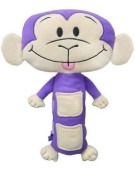 Travel Pillow Kids Monkey Seat Belt Soft Toy