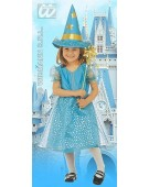 Little Starry Fairy Turquoise  Childrens Fancy Dress