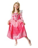 Girls Glitter Sleeping Beauty Fancy Dress Costume All Sizes