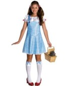 Wizard of Oz tm Costume Dorothy tm Dress & Hair Ribbons Teenager Fancy Dress