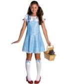 Wizard of Oz tm Costume Dorothy tm Dress & Hair Ribbons Teenager Fancy Dress