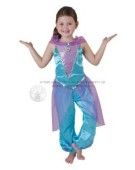 Disney Jasmine Royale Princess Costume Kids Fancy Dress