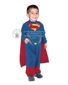 Superman Man of Steel Tiny Tikes Jumpsuit Costume Fancy Dress for Kids