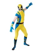Wolverine Fancy Dress Adult 2nd Skin Costume Men Dress up Party