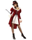 Victorian Lolita Adult Fancy Dress Gothic Woman Costume