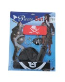 Kids pirate Set with 5 accessories fancy Dress