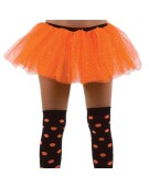 Orange Club Sparkle Tu Tu Fancy Dress Accessory