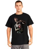 Morph Digital Dudz Beating Heart Zombie Shirt Medium Fancy Dress Costume
