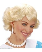 Audrey Wig Blonde Adult Fancy Dress Accessory