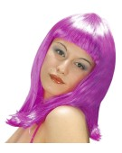 Fashion Wig Patsy Pink Adult Fancy Dress Accessory