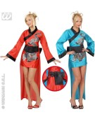 Dragon Girl Red Or Blue Medium UK 10-12 Chinese Fancy Dress Costume