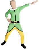 Morphsuits Elf Christmas Toyshop Worker Xmas Dress Up Medium Kids Fancy Dress Costume