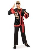 Dragon Ninja Set Fighter Standard Adult Ladies Fancy Dress Costume