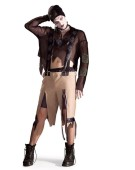 Scary Bad Hansel Halloween Adult Fancy Dress Costume