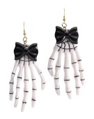Skeleton Hand Ear Rings