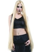 "Long  40"" . Blonde Accessory Fancy Dress"