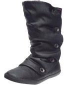 Blowfish Hamish Mid Calf Black UK 3 Women's Boots