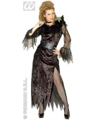 Black Widow Ladies Medium UK 10-12 Adult Fancy Dress Costume
