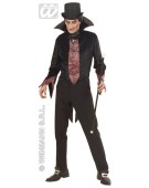 Vampire Set Medium UK 10-12 Mens Adult Fancy Dress Costume