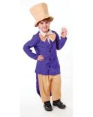 Chocolate Factory Boss (M) costume Kids Fancy Dress