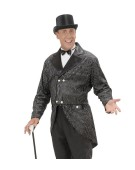 Glitter Tailcoat Medium Mens Adult Fancy Dress Costume