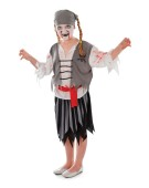 Zombie Pirate Girl (M)   costume Kids Fancy Dress
