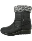 """Antonio Dolfi Snow Black UK 6"""" Adult Men's Boots"""