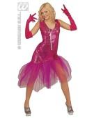 Sissy Dress Pink Small UK 8-10 Adult Ladies Fancy Dress Costume