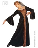 Madame Bovary Medium UK 10-12 Medieval Fancy Dress Costume