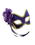 Purple and Gold  and  Flower G and F costume Fancy Dress