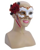 White/Gold/Red Rose Decoration (G/F) costume Fancy Dress