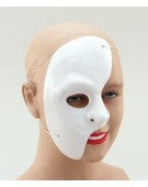 Phantom Of The Opera Half Face Mask Costume Kids Fancy Dress