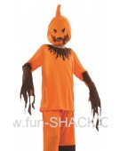 Scary Pumpkin Girl Halloween Costume