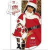Ladies Lady Santa Deluxe Costume Small UK 8-10 for Christmas Panto Nativity Fancy Dress